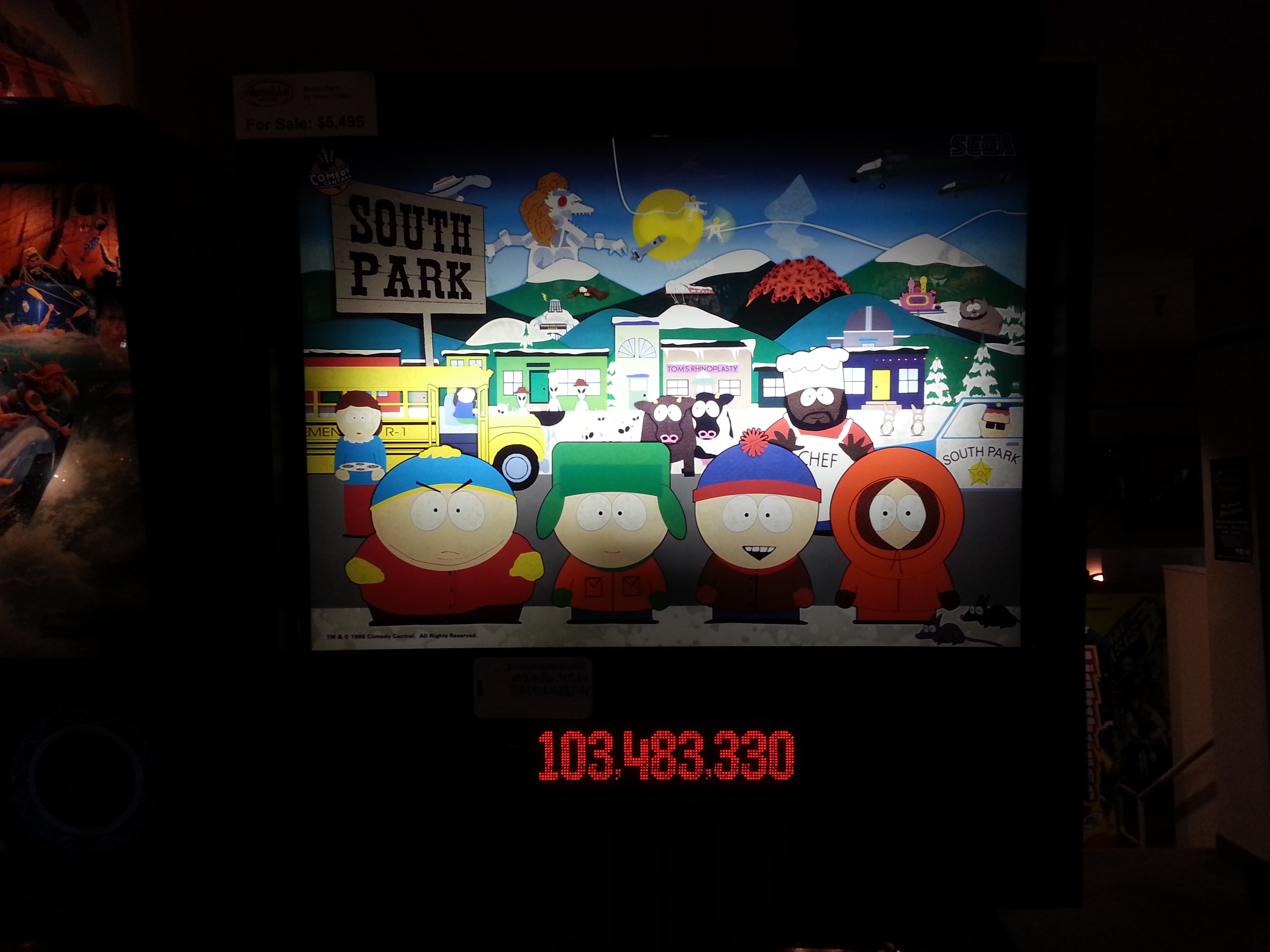 South Park 103,483,330 points