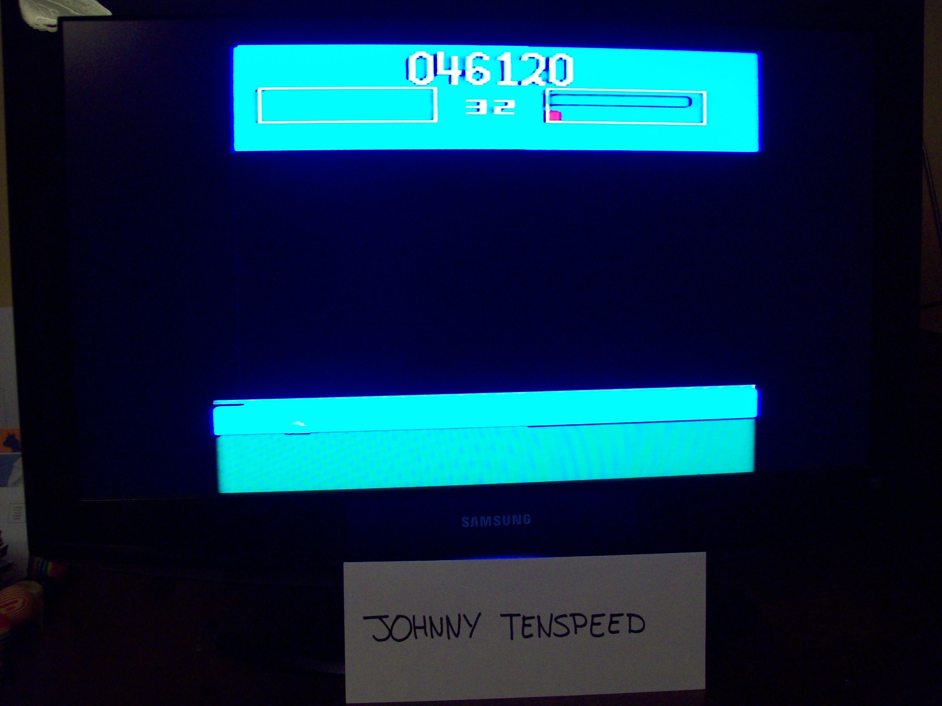 JohnnyTenspeed: Killer Satellites (Atari 2600 Novice/B) 46,120 points on 2015-03-08 22:05:36