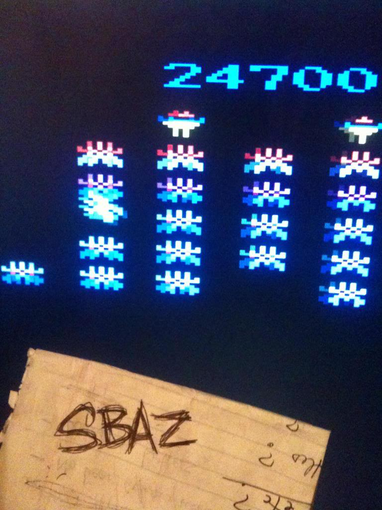 Galaxian Arcade 24,700 points