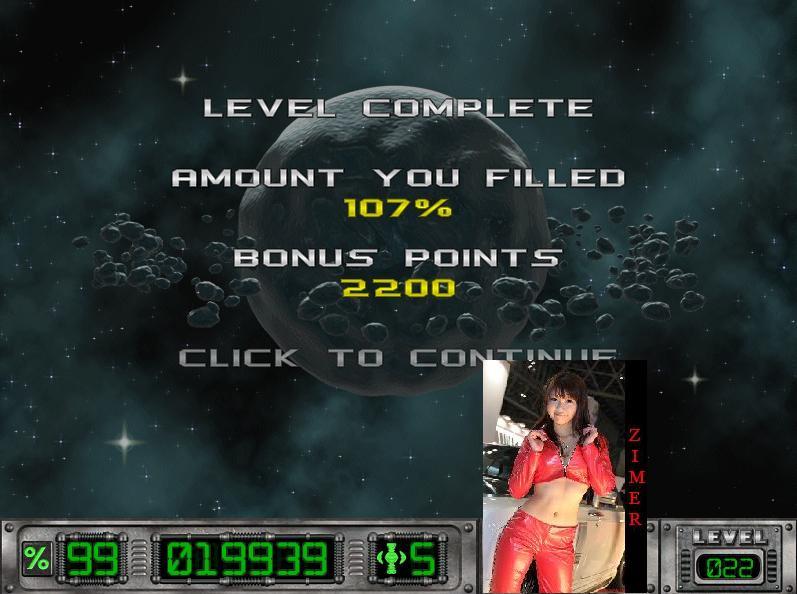 Cosmic Bugs: Level 022 [Percentage] 107 points