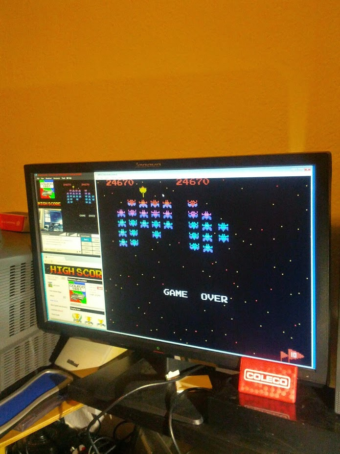 Galaxian: Novice 24,670 points