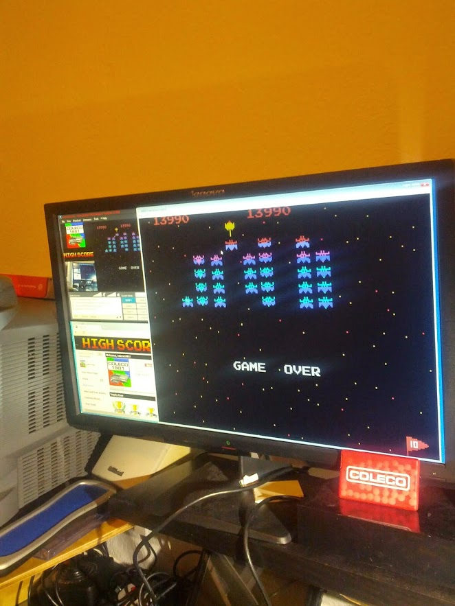 coleco1981: Galaxian: Intermediate (Colecovision Emulated) 13,990 points on 2015-03-12 21:33:01