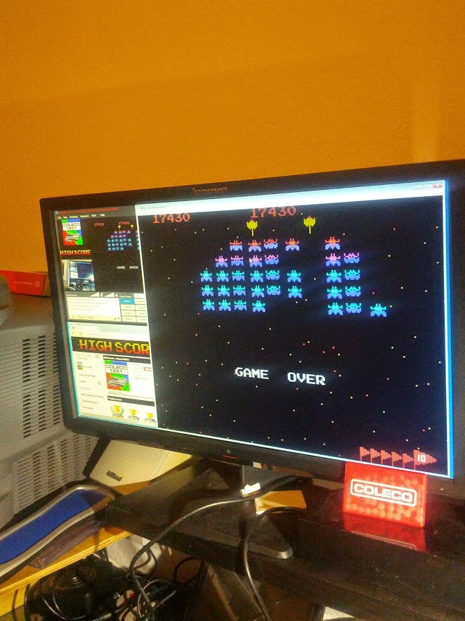 coleco1981: Galaxian: Advanced (Colecovision Emulated) 17,430 points on 2015-03-12 21:45:24