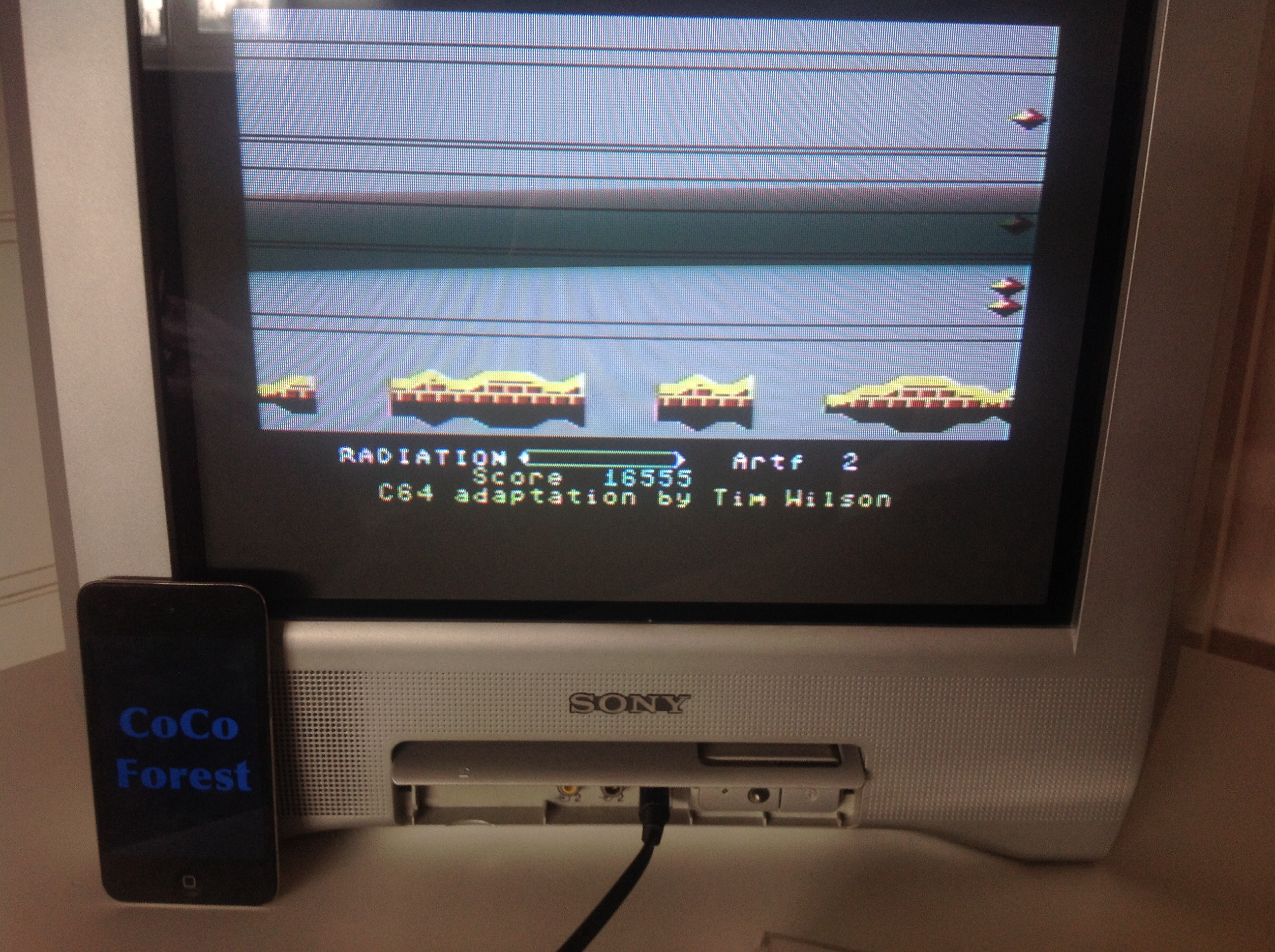 CoCoForest: Pastfinder (Commodore 64) 16,555 points on 2015-03-13 08:08:10