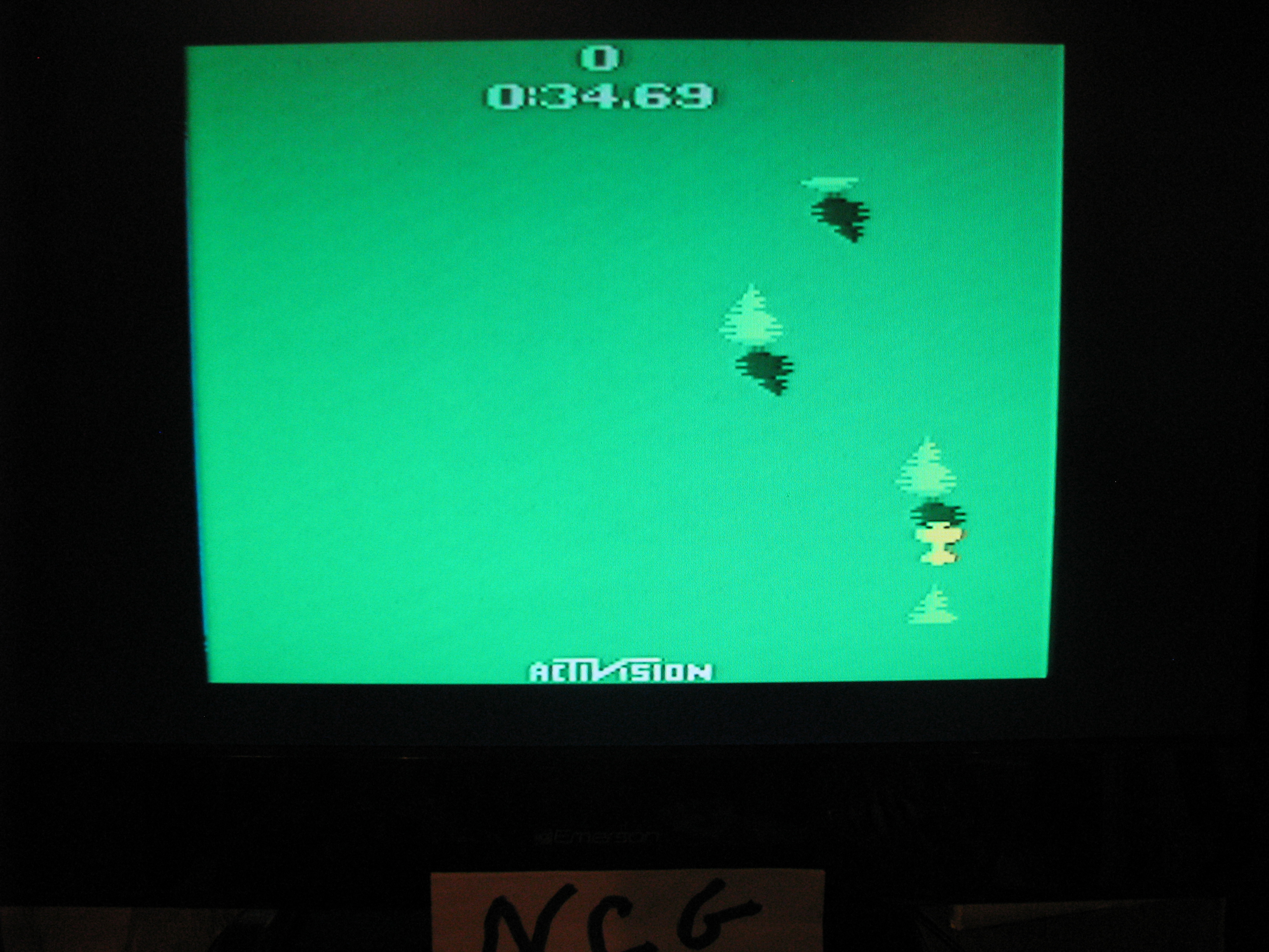 NorthCoastGamer: Sky Jinks (Atari 2600 Novice/B) 0:00:34.69 points on 2015-03-13 18:12:40