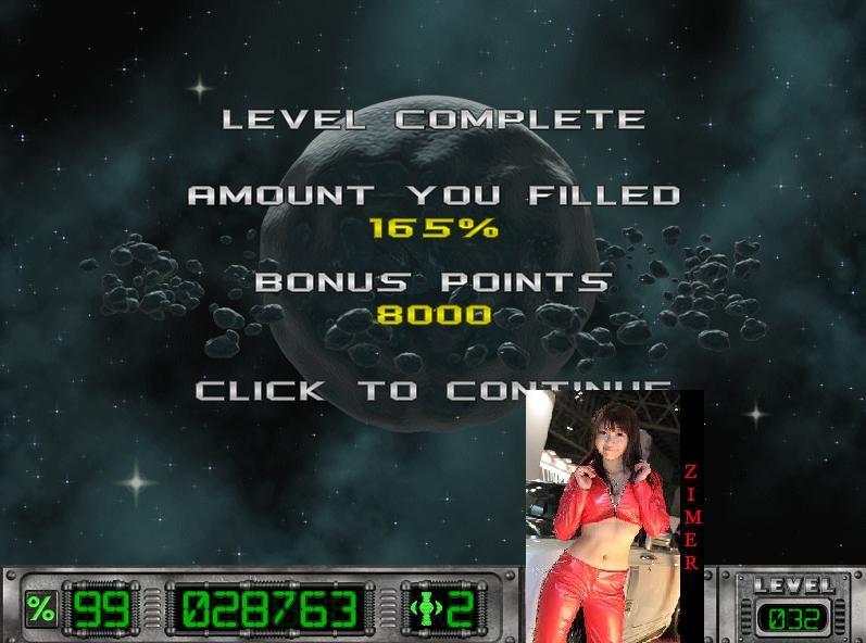Zimer: Cosmic Bugs: Level 032 [Percentage] (PC) 165 points on 2015-03-14 14:36:25
