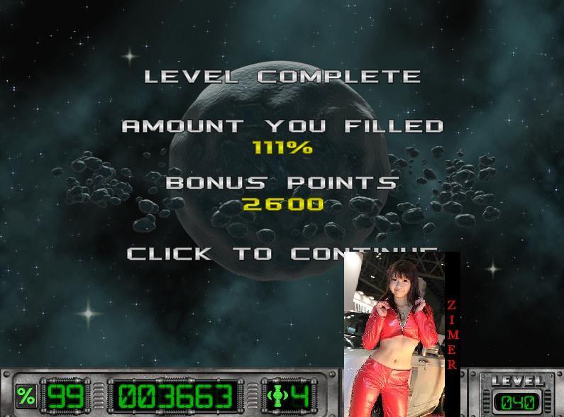 Zimer: Cosmic Bugs: Level 040 [Percentage] (PC) 111 points on 2015-03-14 14:38:31