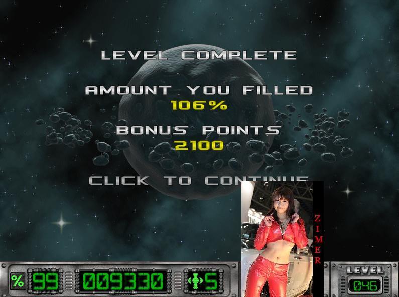 Zimer: Cosmic Bugs: Level 046 [Percentage] (PC) 106 points on 2015-03-15 12:35:13