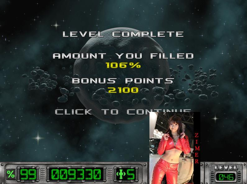 Cosmic Bugs: Level 046 [Percentage] 106 points