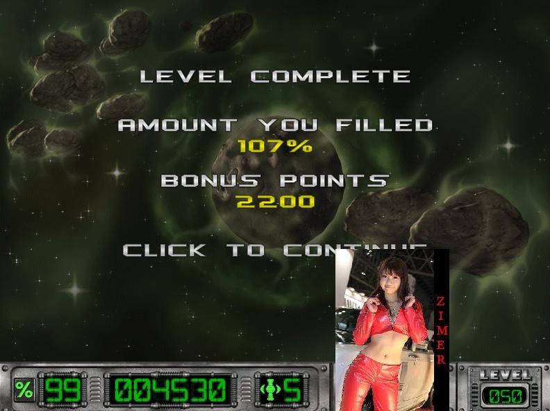 Zimer: Cosmic Bugs: Level 050 [Percentage] (PC) 107 points on 2015-03-15 12:35:20