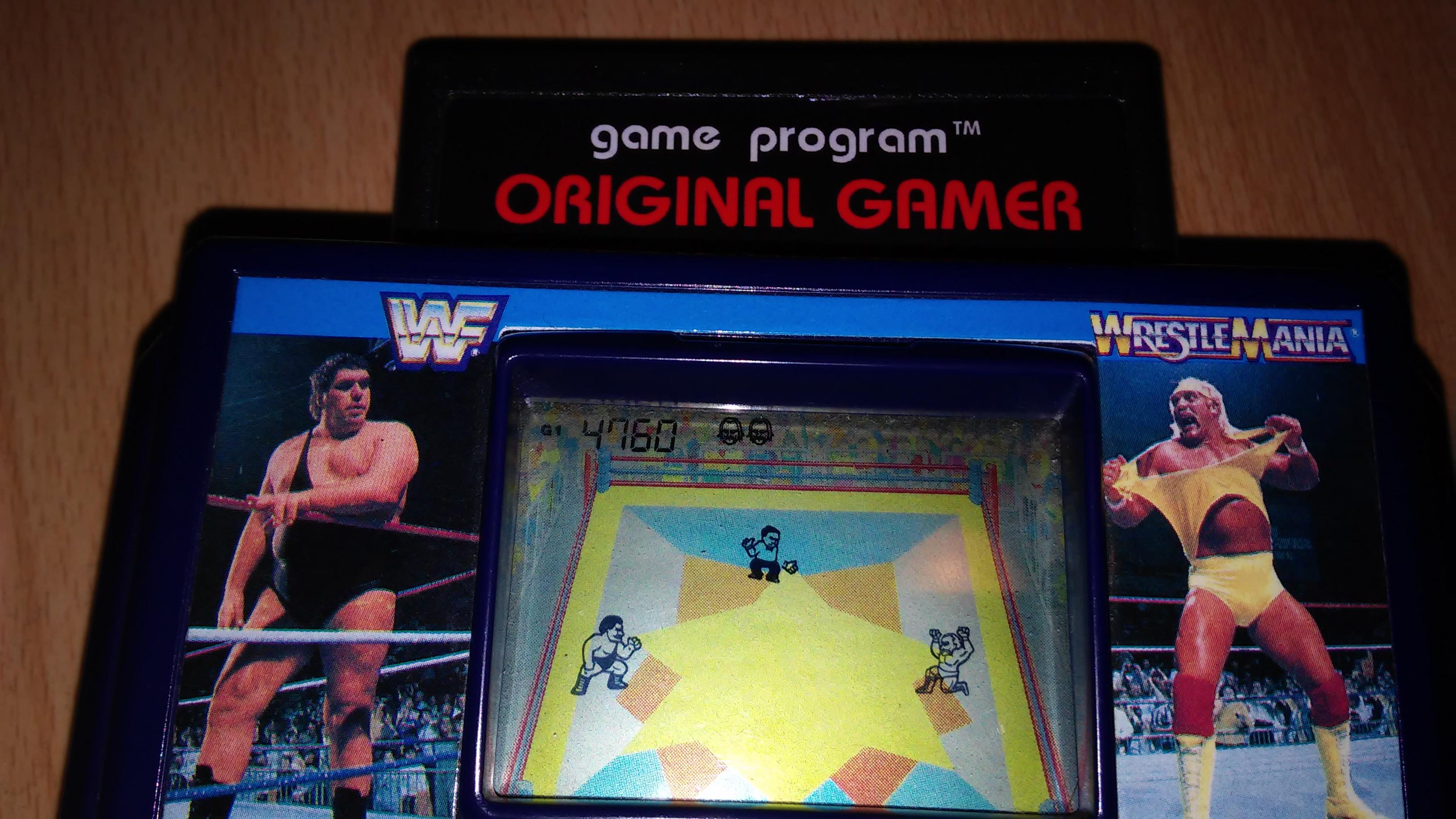 Acclaim WWF WrestleMania [G1] 4,760 points