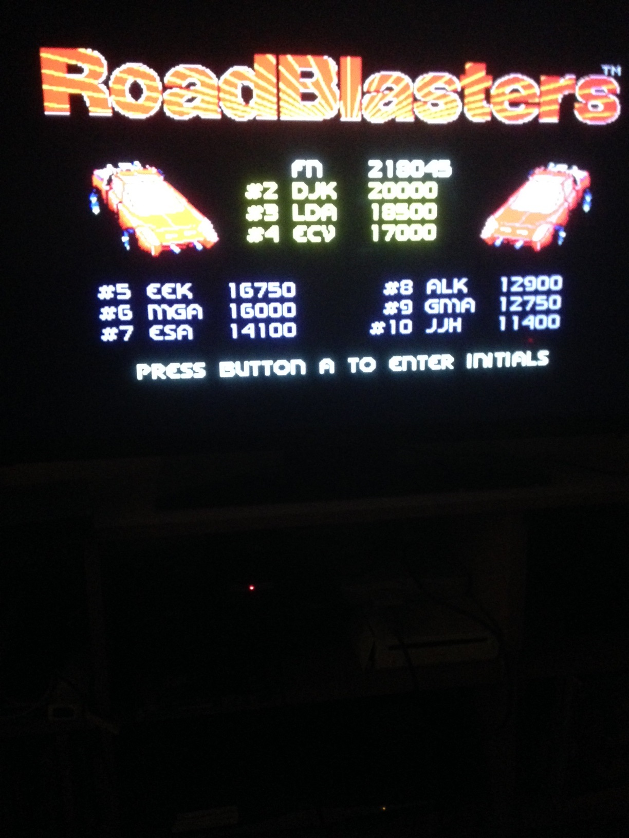 mechafatnick: Roadblasters (Sega Genesis / MegaDrive) 218,045 points on 2015-03-16 01:54:34