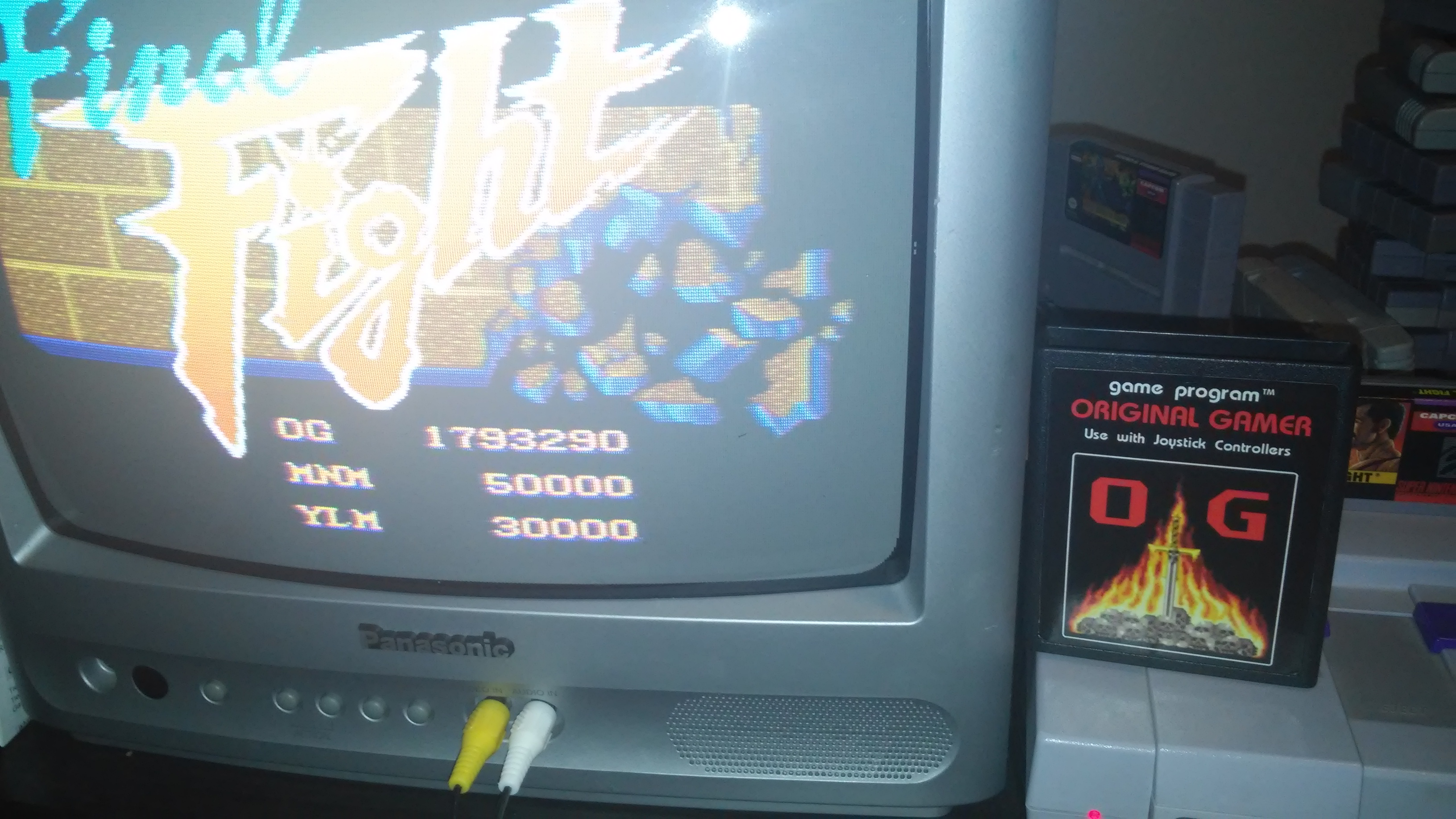 Final Fight: No Continue 1,793,290 points