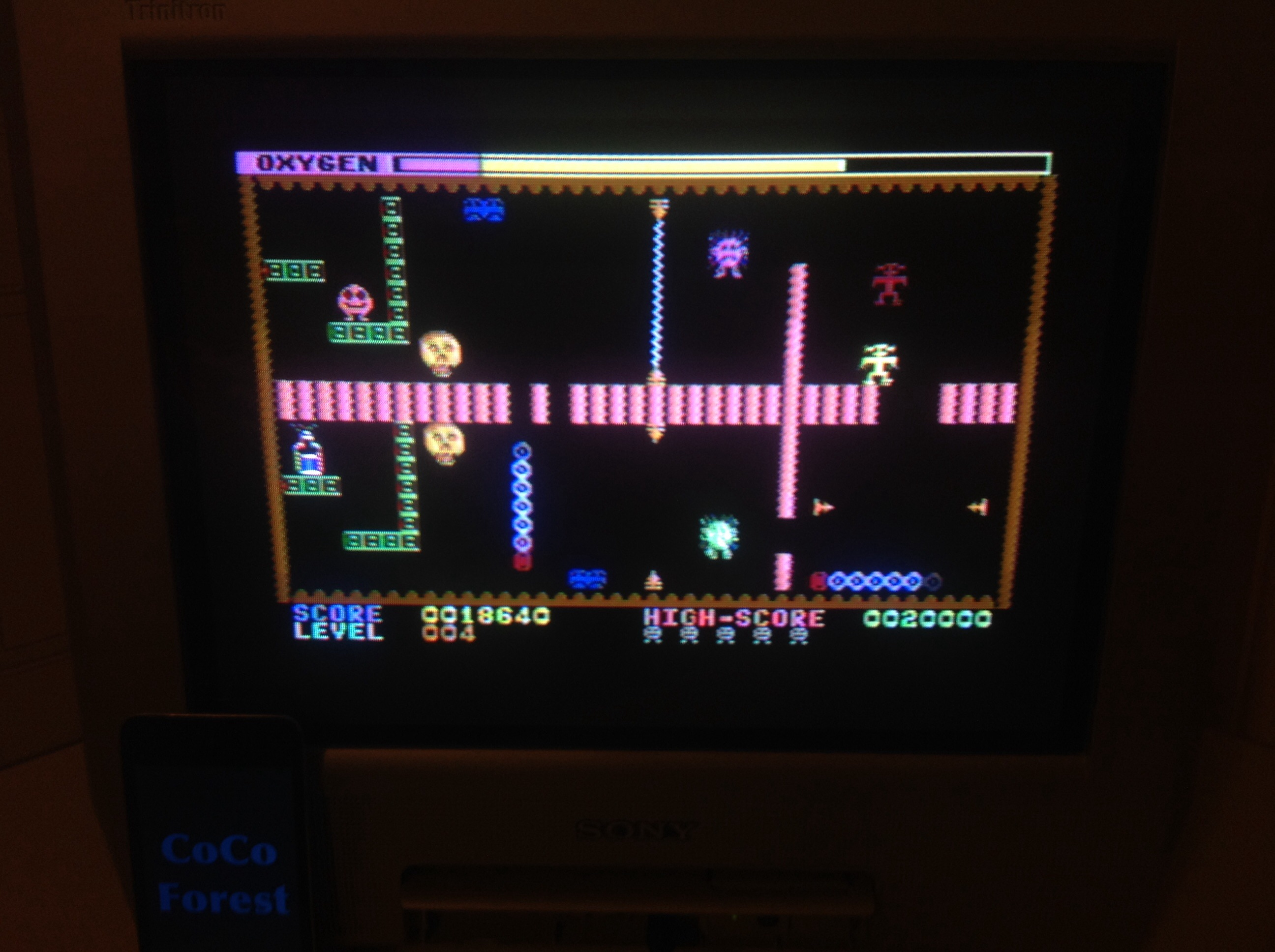 CoCoForest: Dinky Doo (Commodore 64) 18,640 points on 2015-03-16 14:40:19
