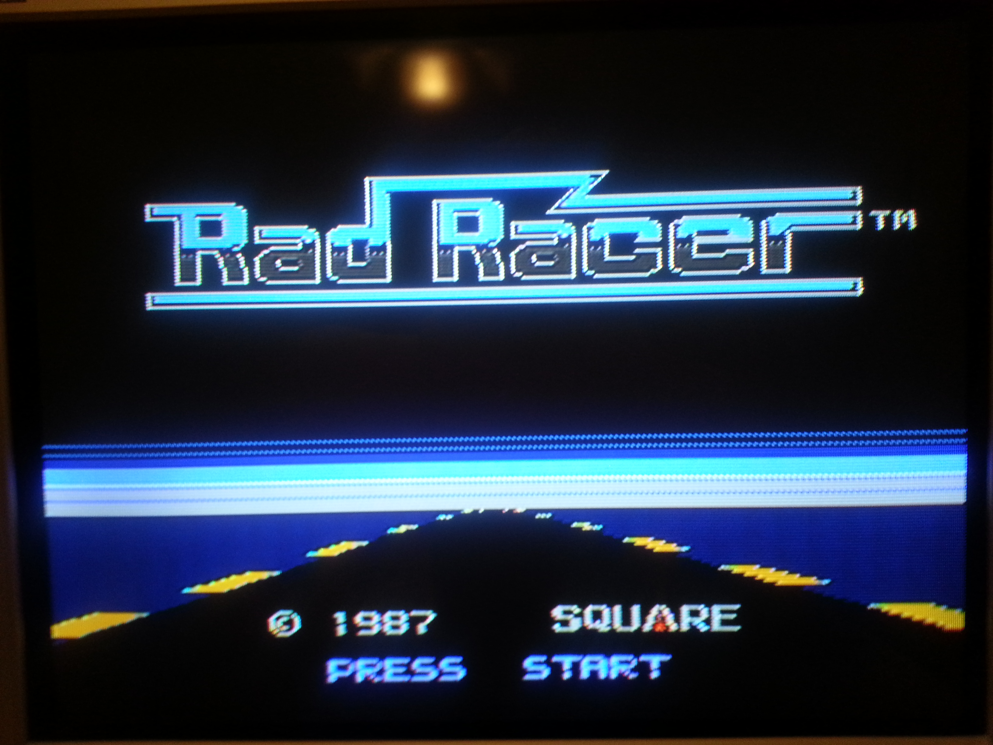Rad Racer 41,515 points