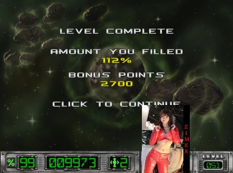 Zimer: Cosmic Bugs: Level 051 [Percentage] (PC) 112 points on 2015-03-19 09:08:31