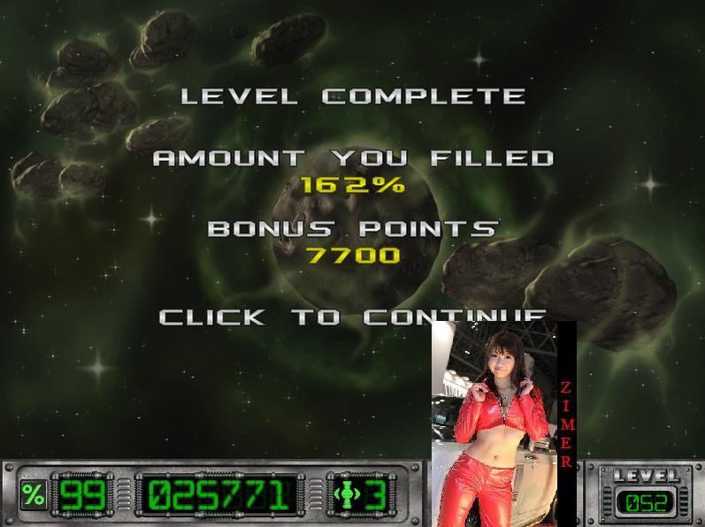 Zimer: Cosmic Bugs: Level 052 [Percentage] (PC) 162 points on 2015-03-19 09:08:50