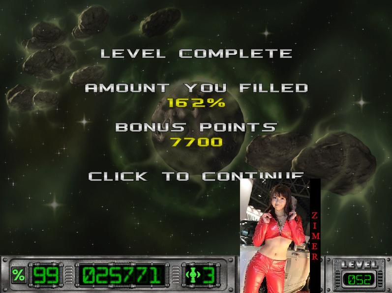 Cosmic Bugs: Level 052 [Percentage] 162 points