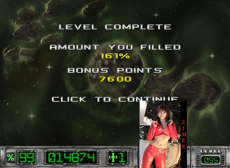 Zimer: Cosmic Bugs: Level 055 [Percentage] (PC) 161 points on 2015-03-19 09:08:57