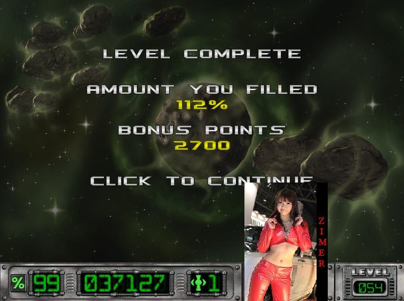 Cosmic Bugs: Level 054 [Percentage] 112 points