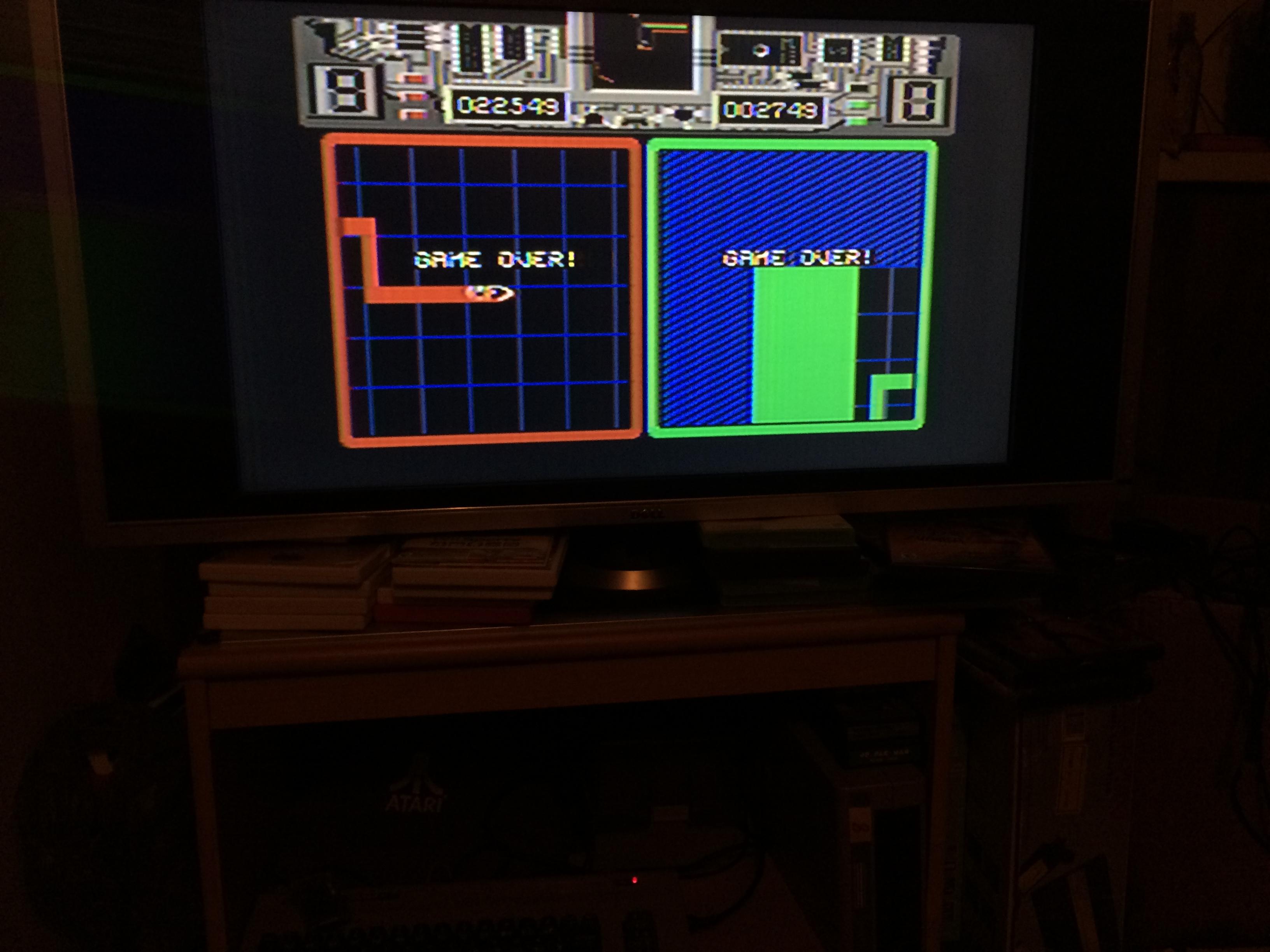 Deteacher: Raster Runner [1P/Easy] (Commodore 64) 22,549 points on 2015-03-19 11:52:52