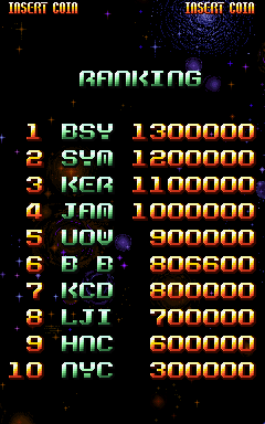 BarryBloso: Super-X [superx] (Arcade Emulated / M.A.M.E.) 806,600 points on 2015-03-20 06:56:57