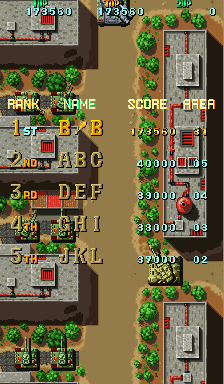 BarryBloso: Twin Hawk [twinhawk] (Arcade Emulated / M.A.M.E.) 173,560 points on 2015-03-20 07:09:50