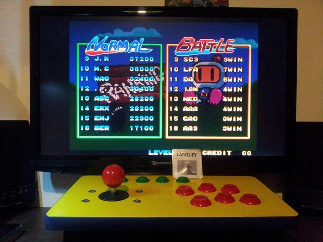 Neo Bomberman 17,100 points