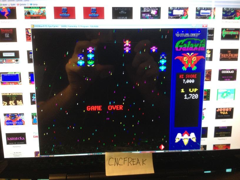 Champ Galaxia: Champ / Arcade 1,720 points