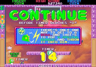 Mantalow: Bubble Memories: The Story Of Bubble Bobble III [bubblem] (Arcade Emulated / M.A.M.E.) 827,340 points on 2015-03-21 08:32:58