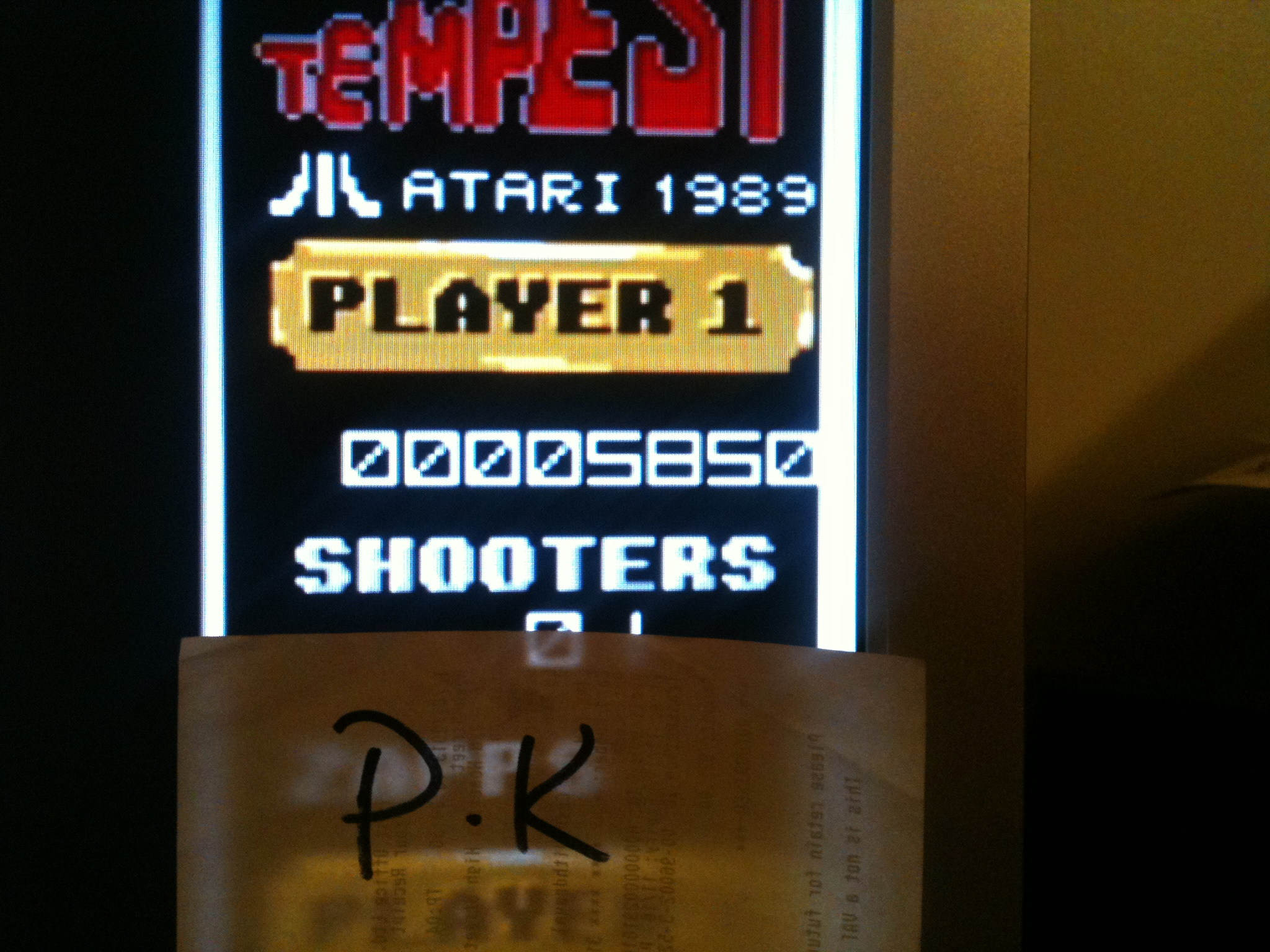 kernzy: Tempest (Atari ST Emulated) 5,850 points on 2015-03-21 09:28:32