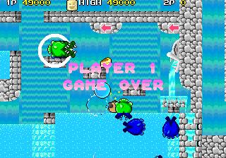 Mantalow: Liquid Kids [liquidk] (Arcade Emulated / M.A.M.E.) 49,000 points on 2015-03-21 09:45:04