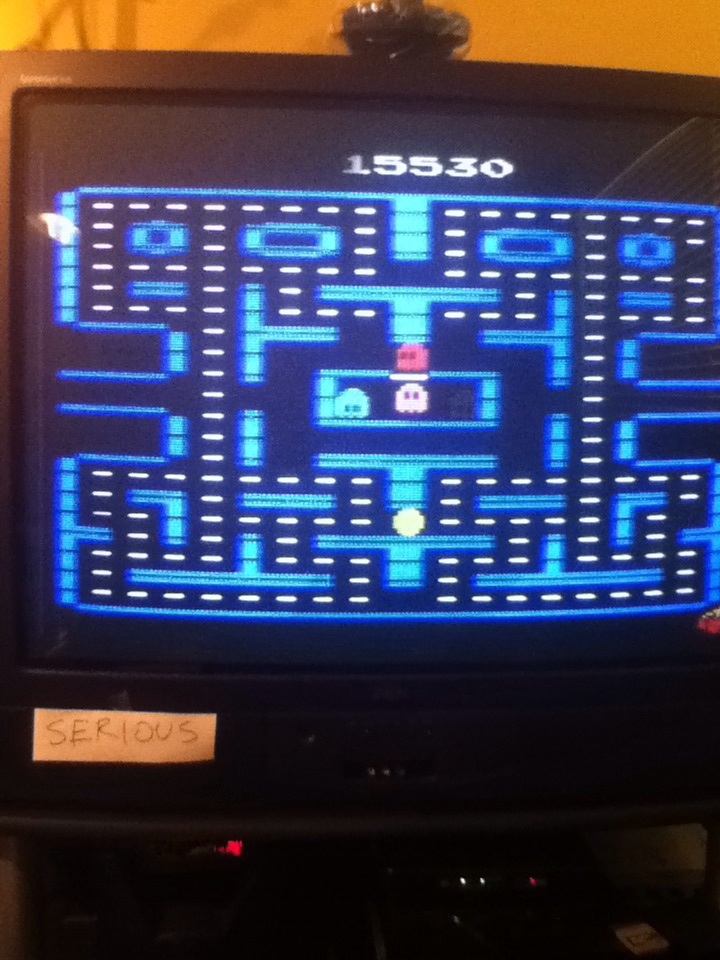 Pac-Man 4K 15,530 points