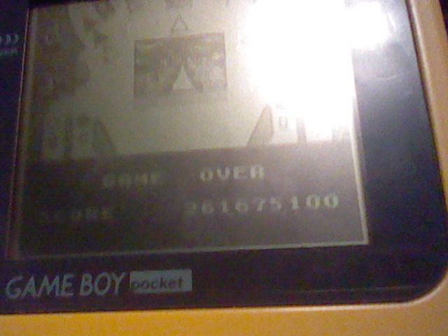 DuckGWR: Pokemon Pinball (Game Boy) 261,675,100 points on 2015-03-22 19:13:11