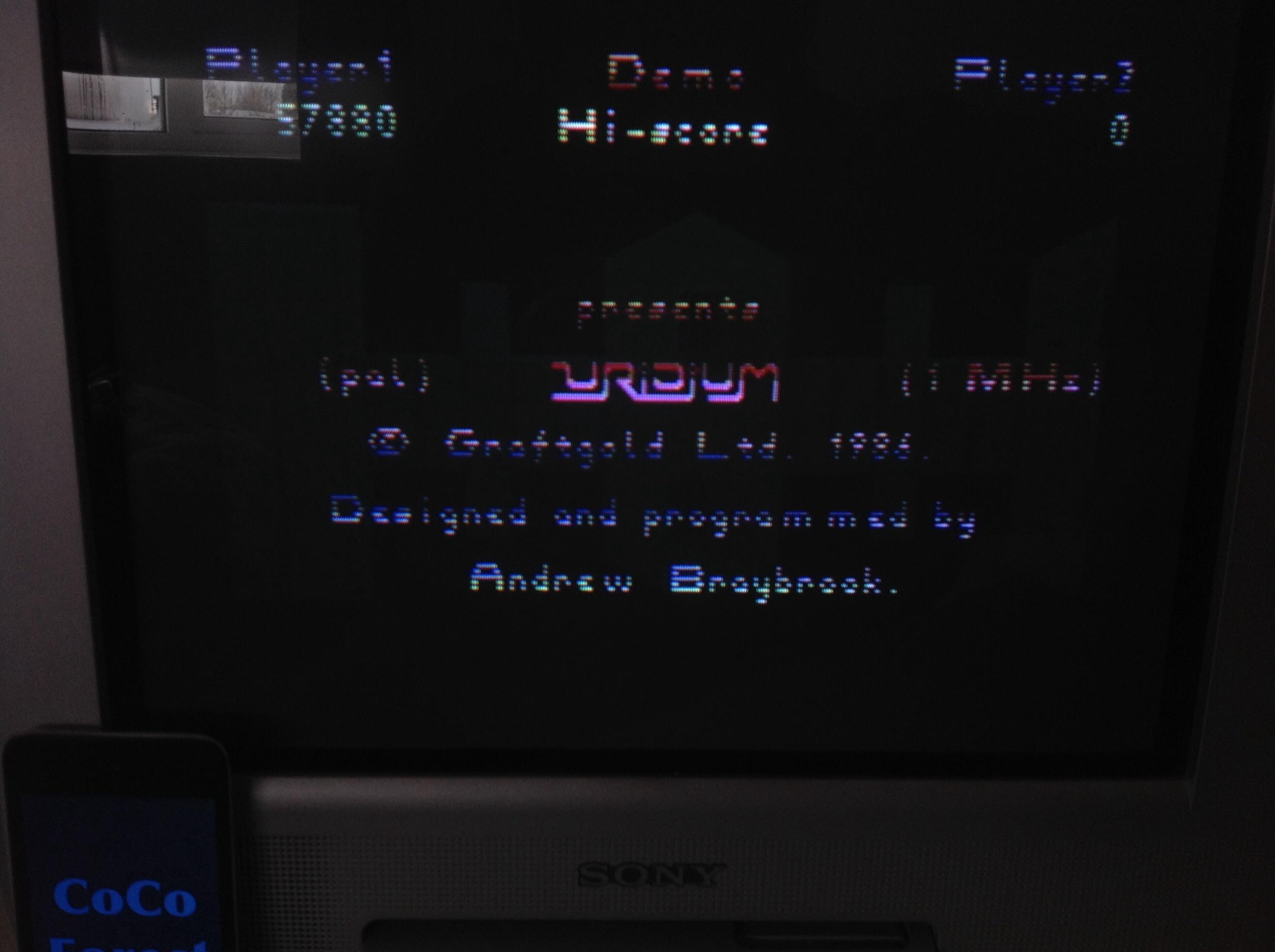 CoCoForest: Uridium Plus (Commodore 64) 57,880 points on 2015-03-24 05:27:40