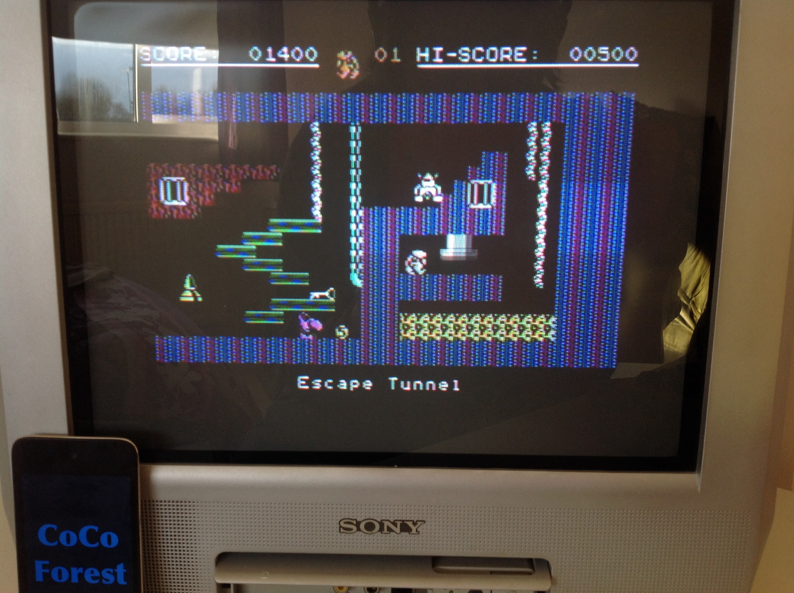 CoCoForest: Monty on the Run (Commodore 64) 1,400 points on 2015-03-24 11:49:44