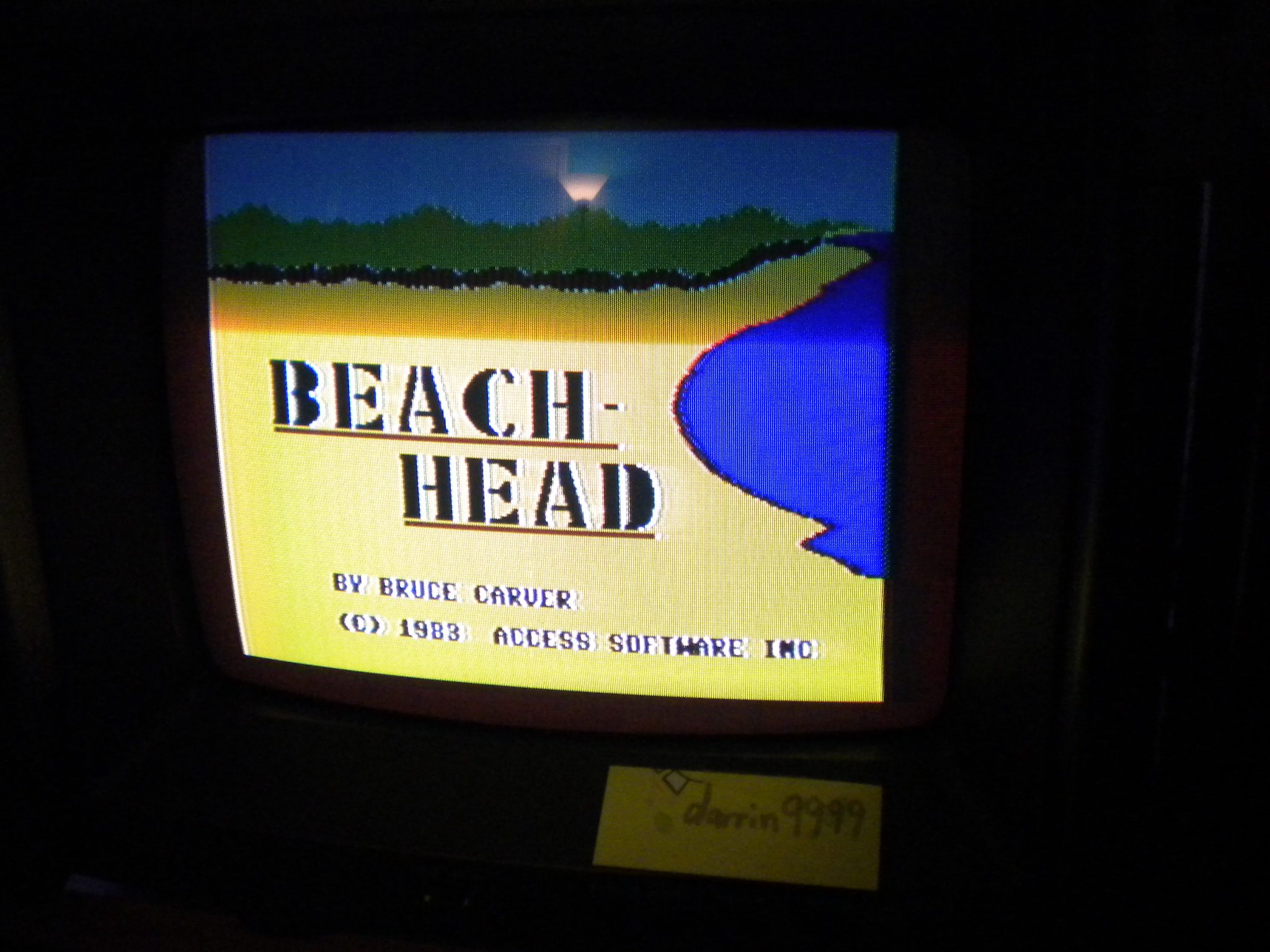 Beach Head 51,000 points