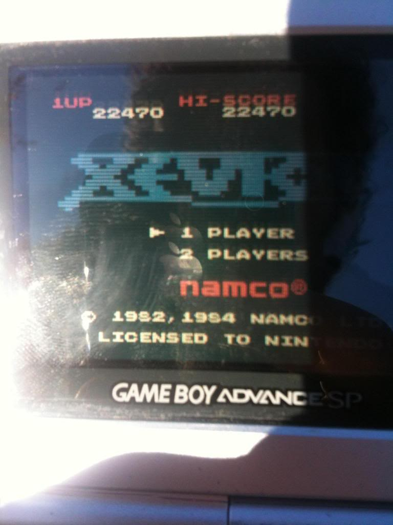Xevious 22,470 points