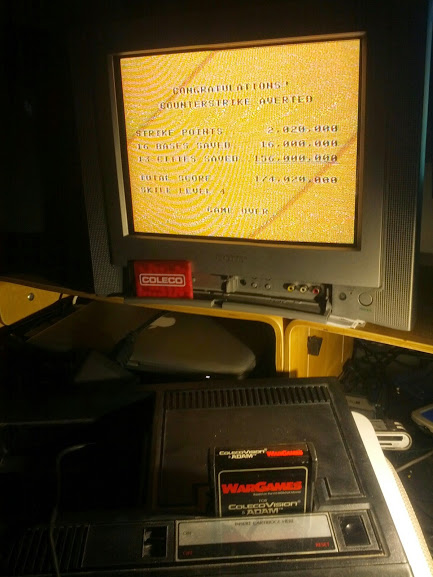 WarGames: Skill 4 174,020,000 points