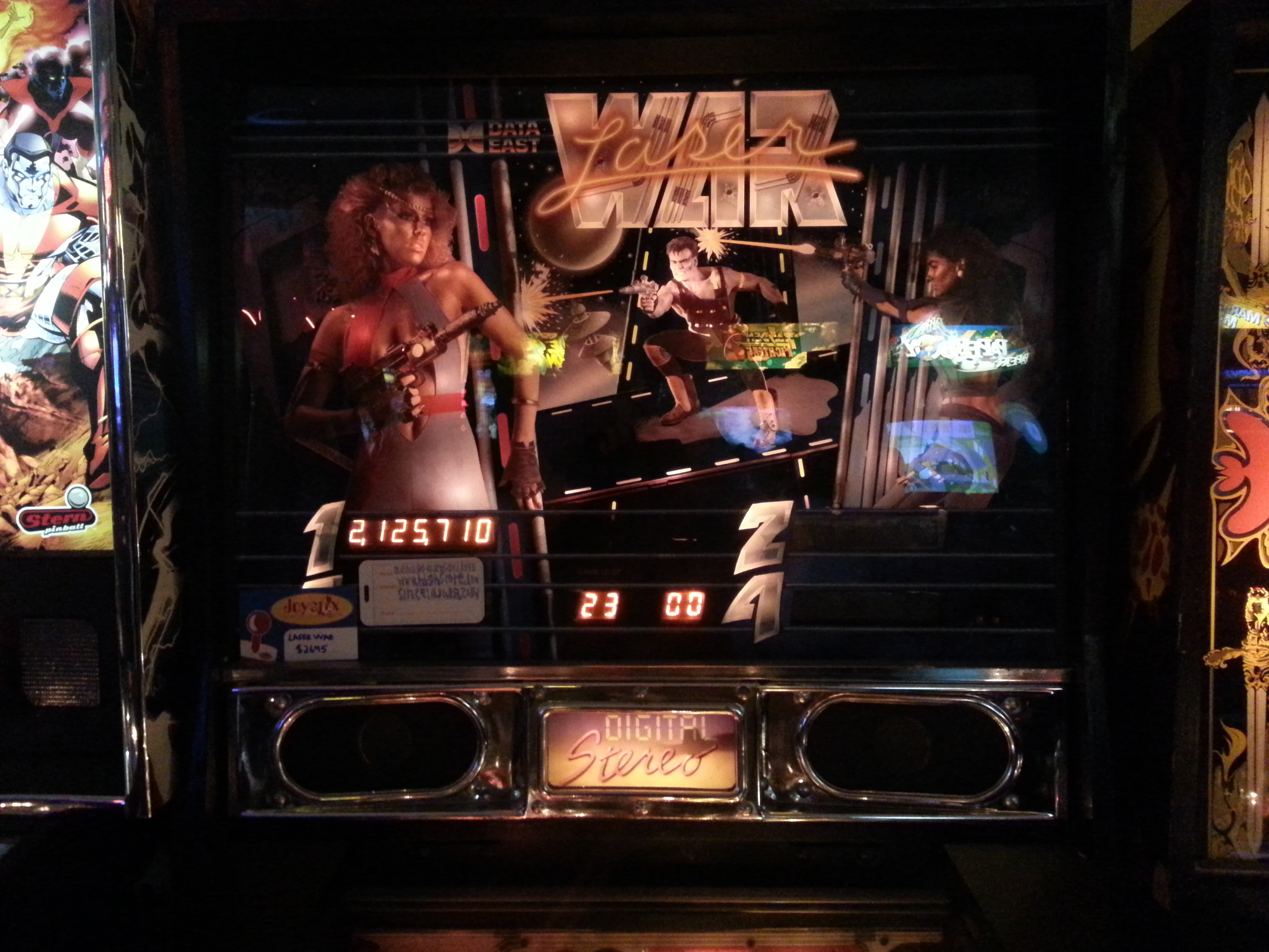 Laser War 2,125,710 points