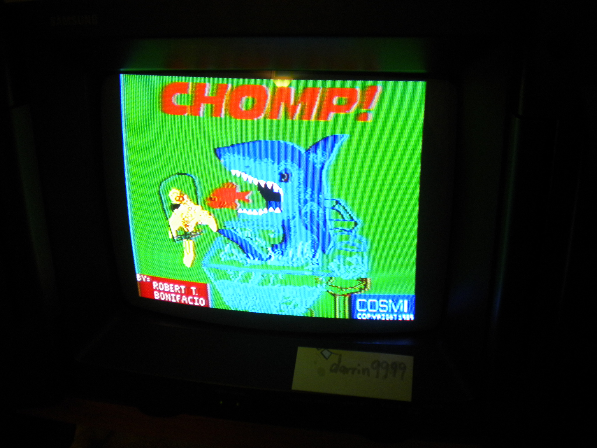 Chomp! [Cosmi 1989] 1,100 points