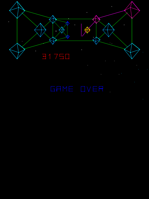 BarryBloso: Cosmic Chasm (Arcade Emulated / M.A.M.E.) 31,750 points on 2015-03-29 04:53:04