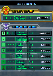 BarryBloso: Strikers 1945 III / Strikers 1999 (Arcade Emulated / M.A.M.E.) 209,800 points on 2015-03-29 05:00:02