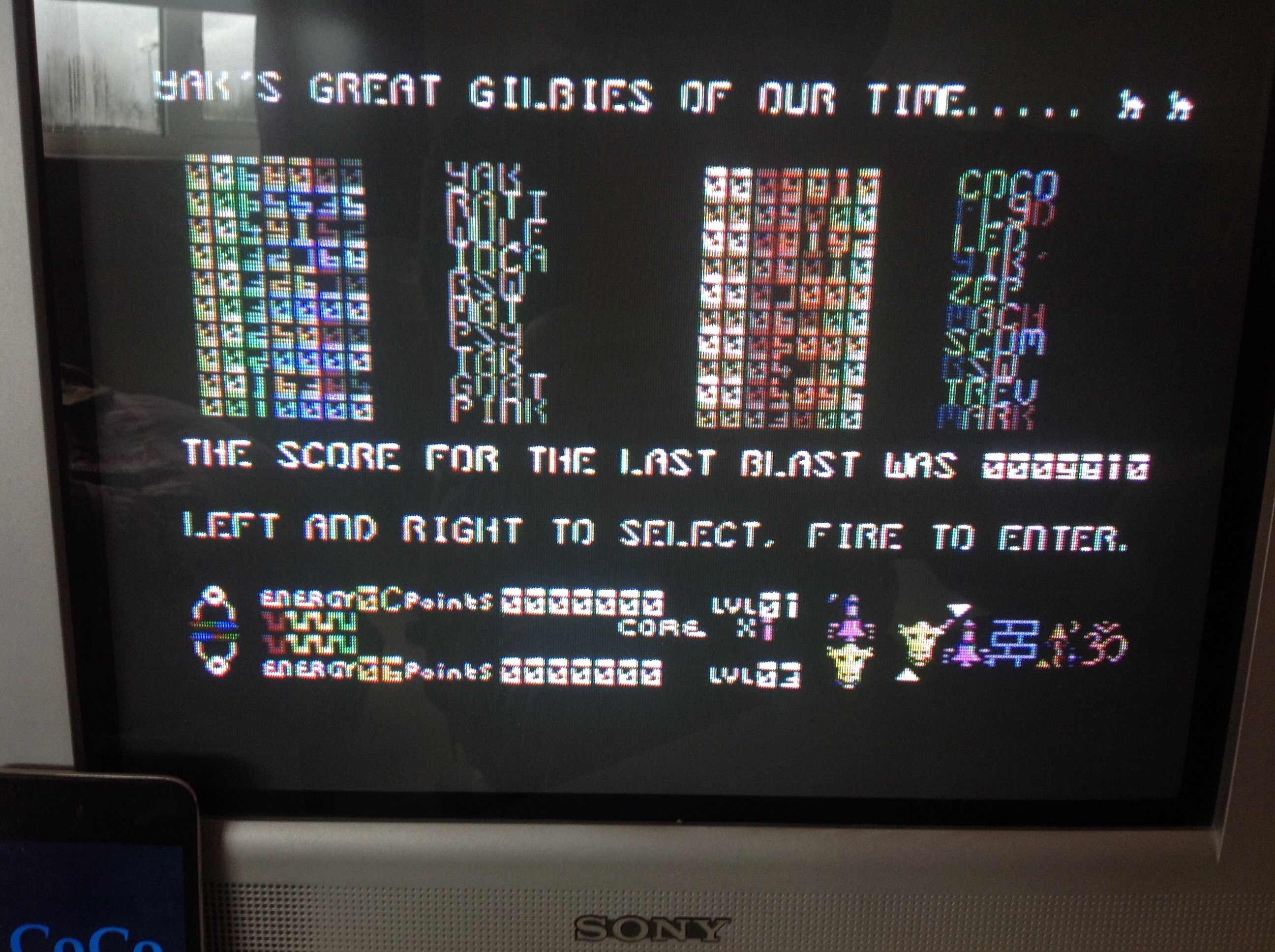 CoCoForest: Iridis Alpha (Commodore 64) 9,810 points on 2015-03-29 08:24:58