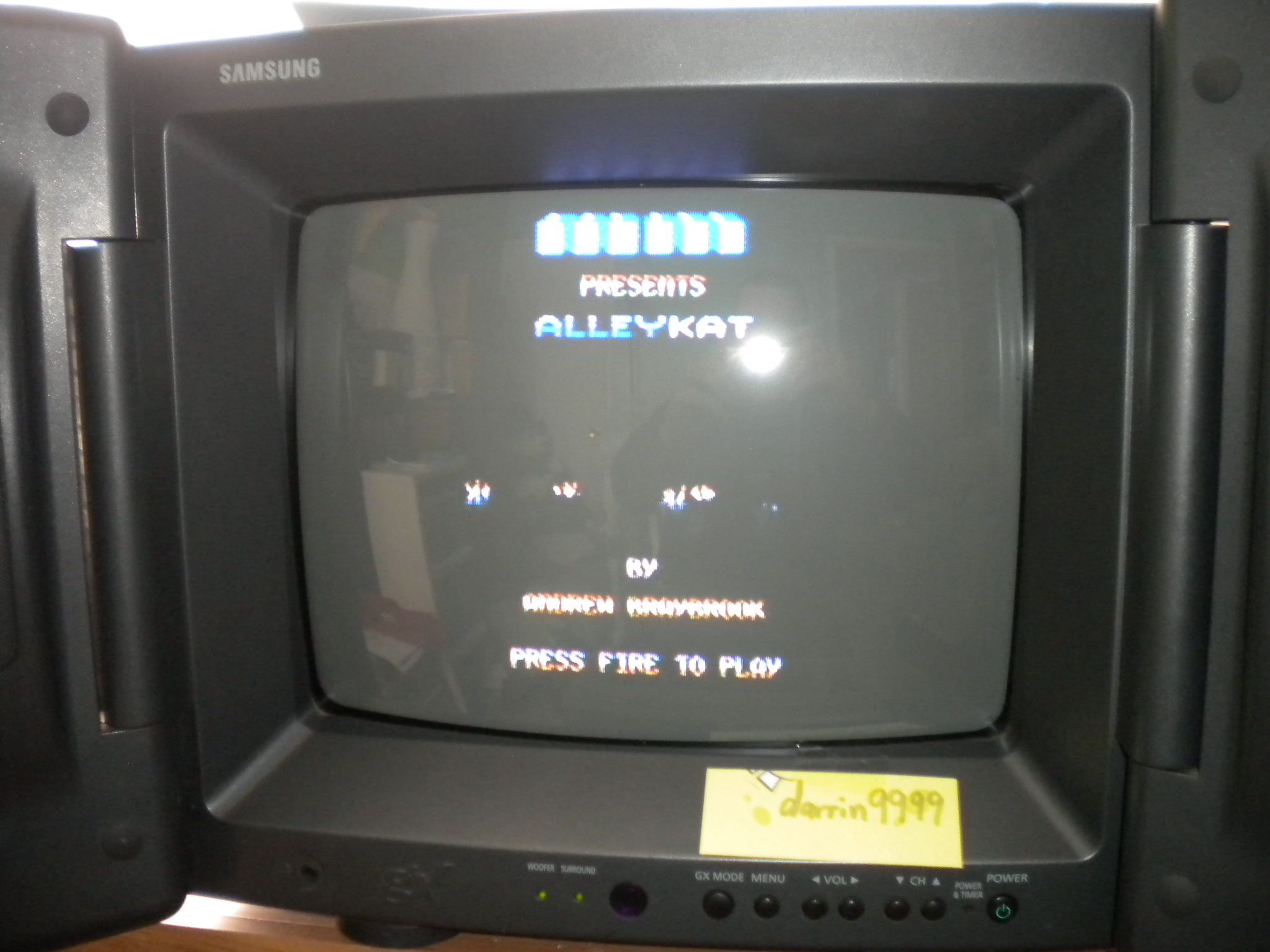 Alleykat [C64 mode] 15,450 points