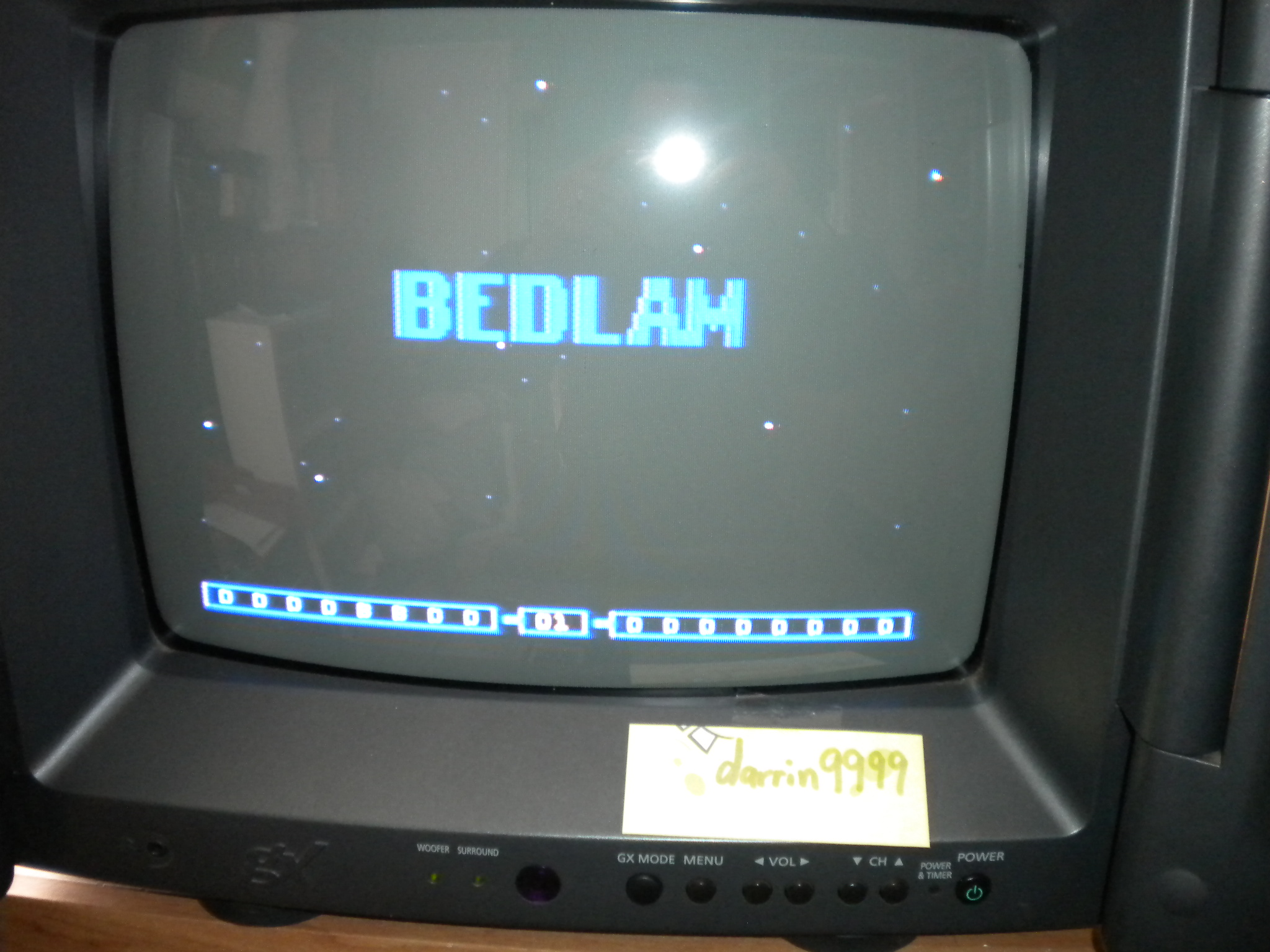 Bedlam 16,300 points