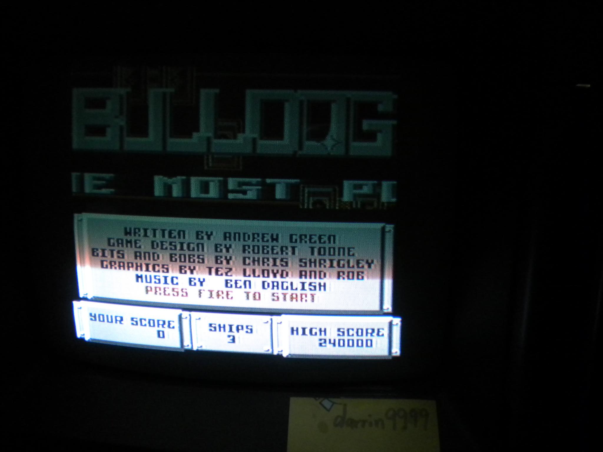 Bulldog 330,200 points