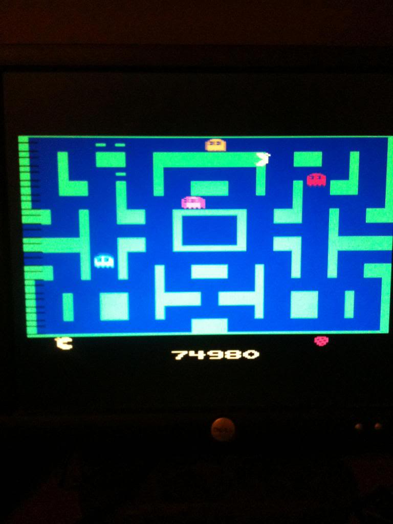 Ms. Pac-Man 74,980 points