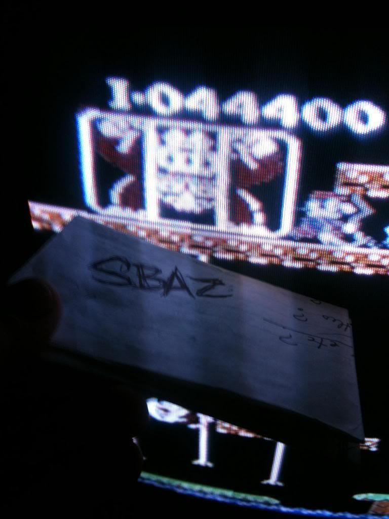Donkey Kong Jr 44,400 points