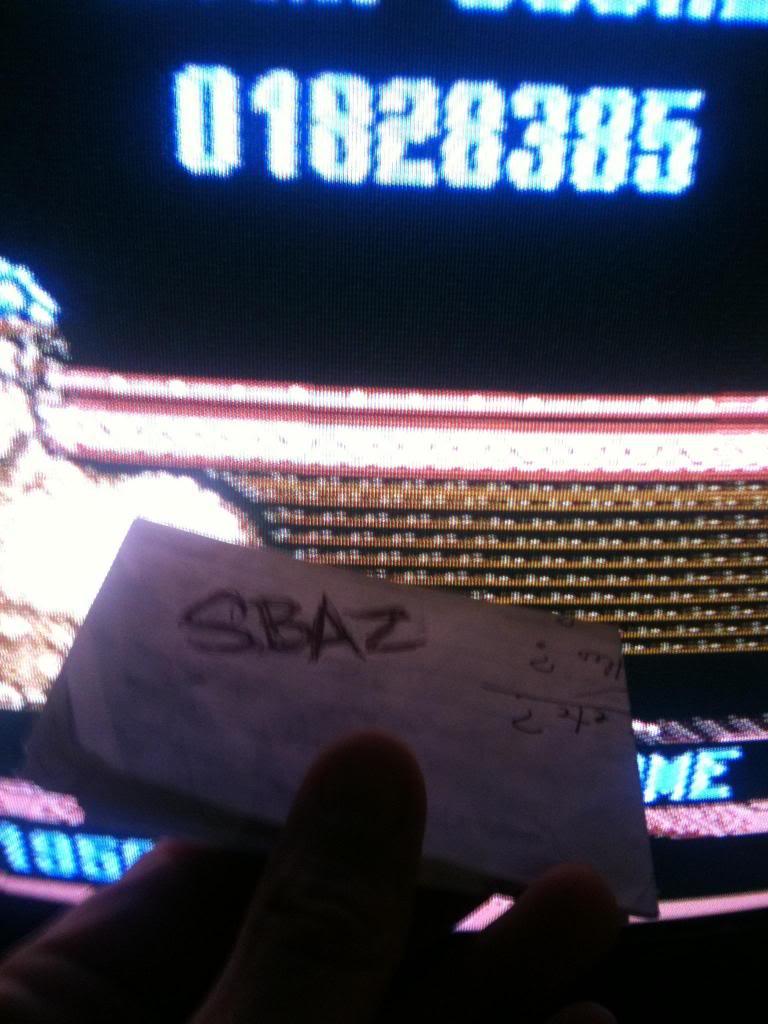 Smash TV 1,828,385 points